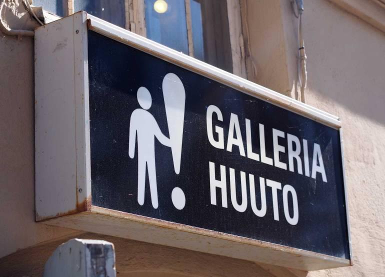 Galleria Huuto Taidematkustaja
