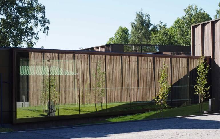 Göstan paviljonki Serlachius-museot Taidematkustaja