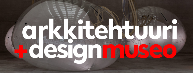 arkkitehtuuri designmuseo banneri