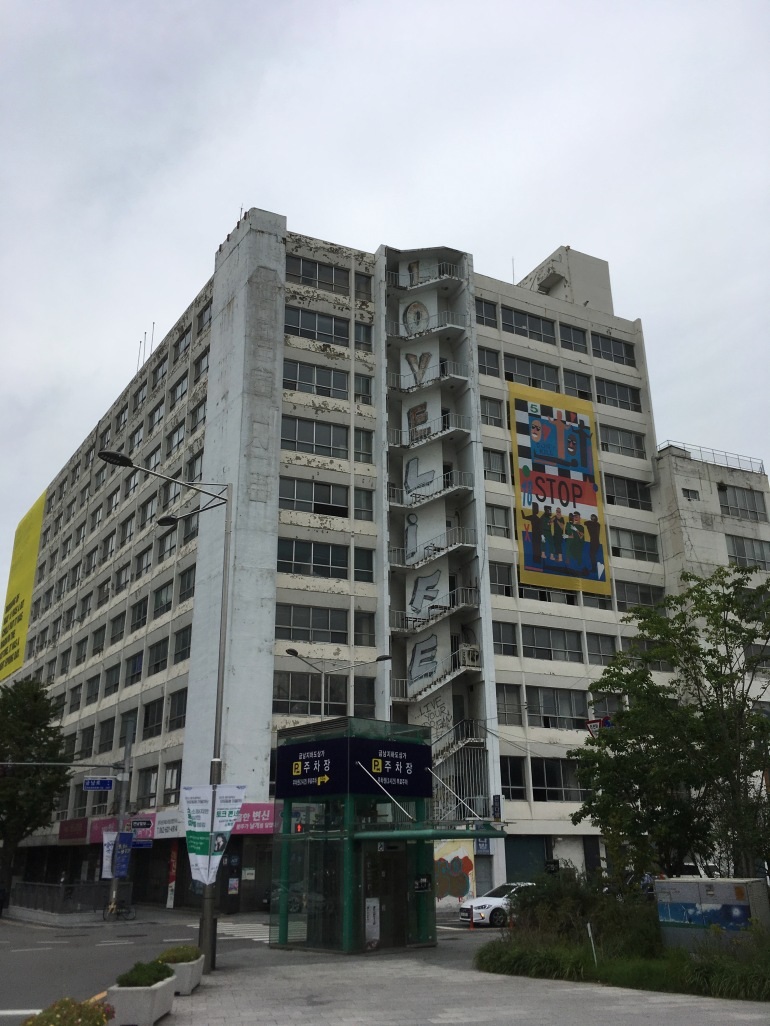 Gwangju taidematkustaja